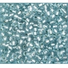 Ponybead 6/0 Silver Lined Light Blue Loose Solgel